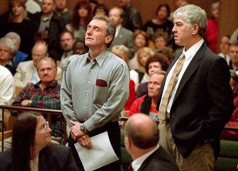 Ron Williamson vyslechl osvobozující rozsudek.