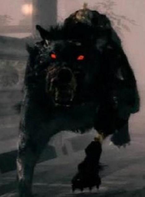 Zjevení černého psa vždy doprovází zápach síry i smrti.