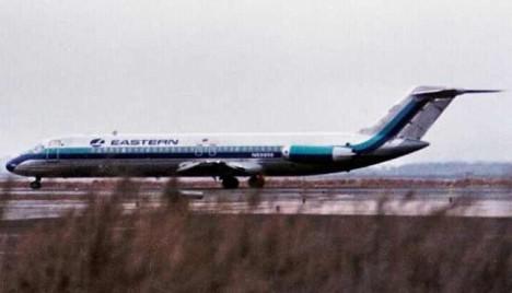 Unesený letoun DC-9, let Trans World Airlines 541.