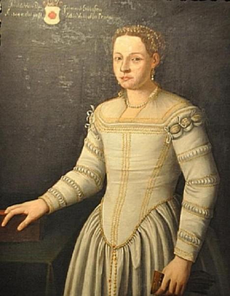 Perchta z Rožmberka zažívá na lichtenštejnských sídlech v Mikulově a Valticích hlad a zimu.