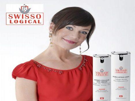 Také Šárka Ullrichová, herečka ze seriálu Ulice, si vyzkoušela kosmetiku Swisso Logical.