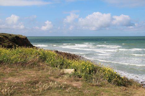 La Pointe aux Oies et la Manche - Wimereux, Pas-de-Calais (France).