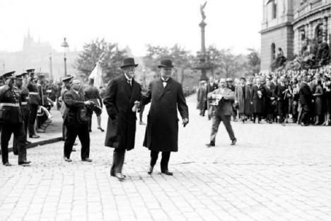 Švehlu a Masaryka pojí silné přátelské pouto.