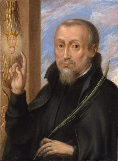 Anglickému jezuitovi Henrymu Garnettovi stáhnou kůži z obličeje.