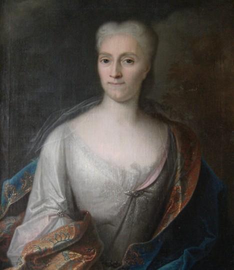Anna Constantia von Cosel jedna z úctyhodného množství panovníkových milenek.