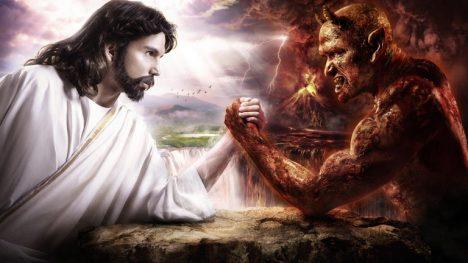 Bůh versus ďábel