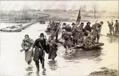 Battle-of-Fredericksburg-1862-December-11-US-Civil-War-Union-volunteer-soldiers-crossing-Rappahannock-River