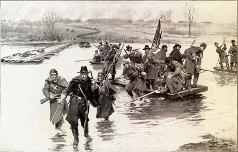 Battle-of-Fredericksburg-1862-December-11-US-Civil-War-Union-volunteer-soldiers-crossing-Rappahannock-River