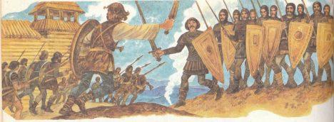 Bitva u Wogastiburgu se strhla kvůli diplomatické šarvátce.