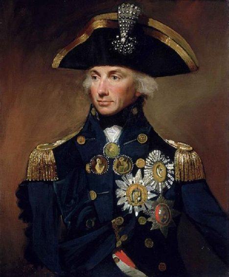 Britský admirál Horatio Nelson umírá ve chvíli, když dosáhne velkého vítězství.