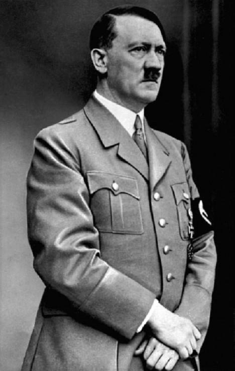 Vůdce nacistického Německa, jak ho zná celý svět.