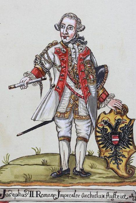 Císař Josef II. ruší tresty žen, které přivedly na svět nemanželské děti.
