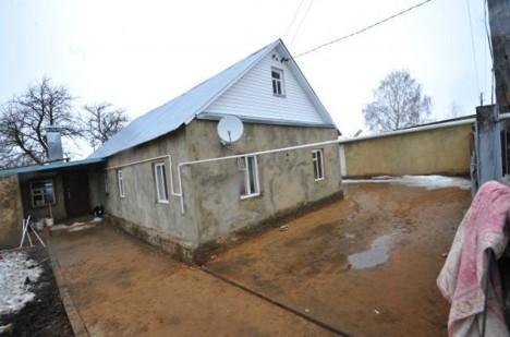 Dům v Bogoroditsku nevypadá na sídlo bohatého podnikatele.