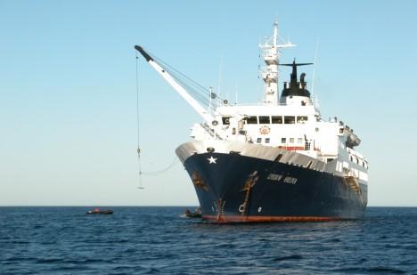 Ztracená loď Ljubov Orlova.