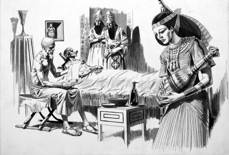 Egyptská medicína sice je už ve starověku na vysoké úrovni, ale s infarktem si rady neví.