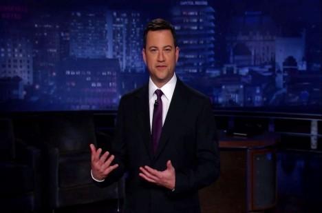 O hercově údajném střetnutí s duchem se dozvěděl americký moderátor Jimmy Kimmel.