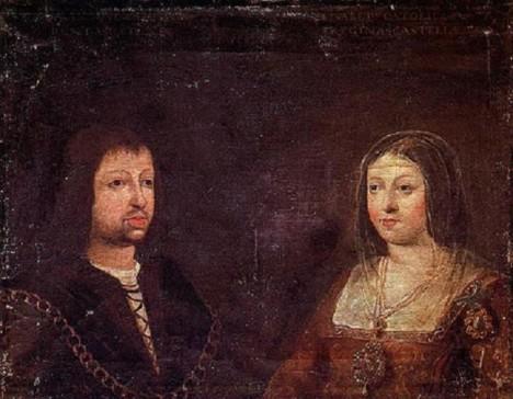 Španělský král Ferdinand II. Aragonský a královna Isabella Kastilská chtějí zbohatnout na zámořském obchodu.