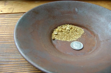 Vydělávat si rýžováním zlata? Pro některé sen, který se splnil.