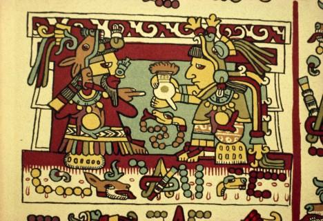"""1. Sladké platidlo -  Aztékové si byli dobře vědomi ceny """"kakaového zlata"""", používali kakaové boby dokonce jako platidlo. 1 kakaový bob odpovídal ceně za 1 rajče, za 30 bobů se dal koupit králík."""