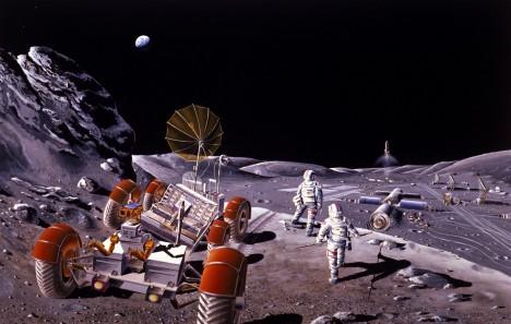 Takzvaný projekt Horizont počítal s výstavbou měsíčních základen již v 60. letech minulého století.