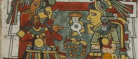 Název dali čokoládě Aztékové, kteří horkému nápoji z kakaových bobů říkali chocoatl.