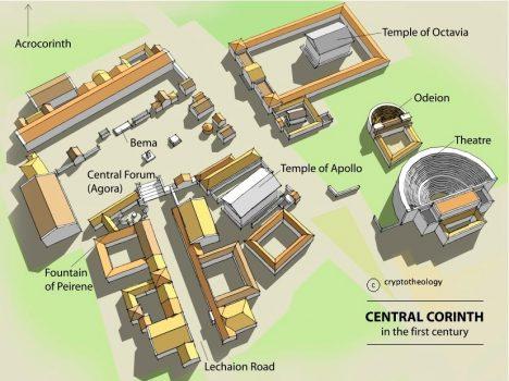 Korint hýřil celá staletí, nakonec ale udělal chybu, když se začal protivit sílící moci Říma. V roce 146 př. n. l. Korint dobyl římský konzul Lucius Mummius a město dal srovnat se zemí.