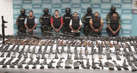 Do roku 2015 se podařilo zadržet všechny známé vůdce gangu a také ohromné množství zbraní a drog.