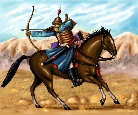 V jazyce mongolské říše neexistovalo slovo pro vojáka, protože v podstatě každý poddaný byl vycvičený ve válečnickém umění.