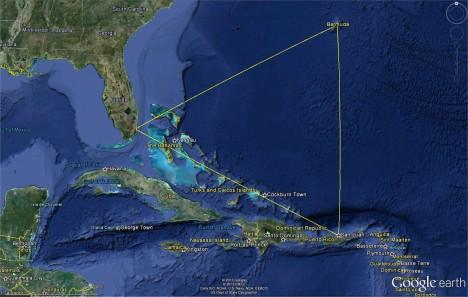 V oblasti Atlantiku v bermudském trojúhelníku, přibližně ohraničeném americkým městem Miami na Floridě, Portorikem a Bermudami, údajně mizí velké množství lodí a letadel. Dosud se nepodařilo uspokojivě vysvětlit proč.