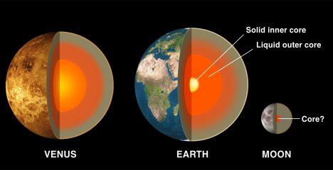 """Venuše je tzv. terestrická planeta, co do velikosti a hrubé skladby velmi podobná Zemi. Někdy se jí proto říká """"sesterská planeta Země""""."""