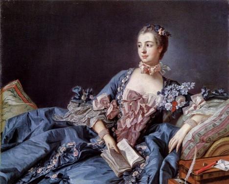 Francouzský král je náruživým sukničkářem. Jednou z jeho milenek je proslulá madame de Pompadour.