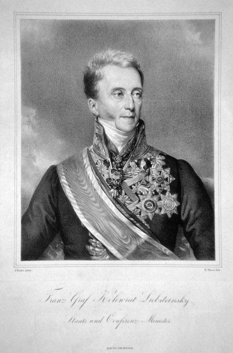 František Kolowrat-Libštejnský intervenuje, když se stanovy muzea záhadně ztratí.