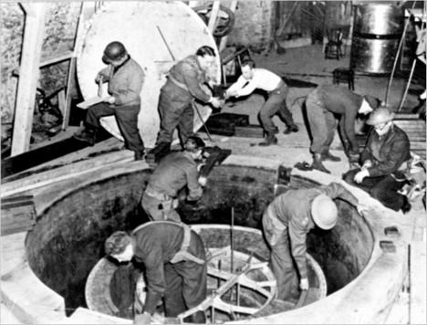 Němci zvládli podle historiků uvést do provozu nejméně 3 jaderné reaktory v Lipsku, v Berlíně a Heigerlochu.