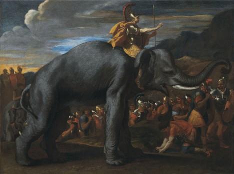 Hannibalovi váleční sloni byli postrachem římských legií.