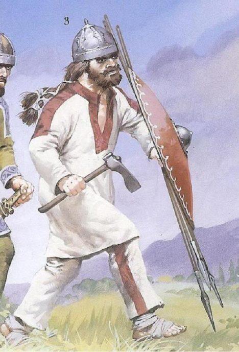Holubičí povaha Omyl, Slované prý byli pěkně krvelační.