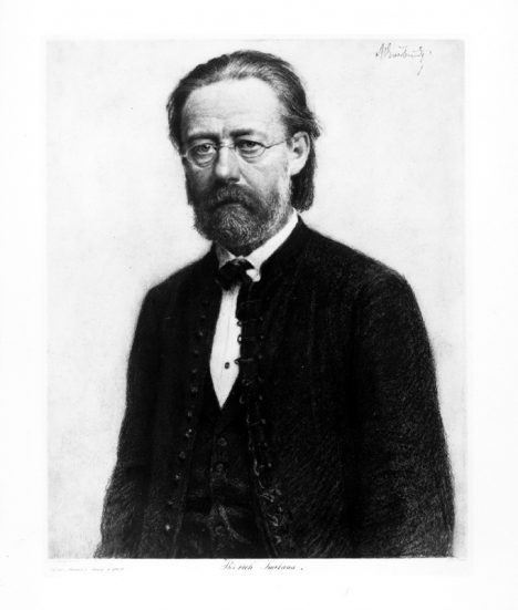 Hudební skladatel Bedřich Smetana vítězí v soutěži o nejlepší českou operu.
