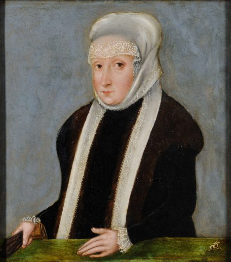 Isabella Jagellonská prý nechala křížek ulomit jako talisman pro svého syna.