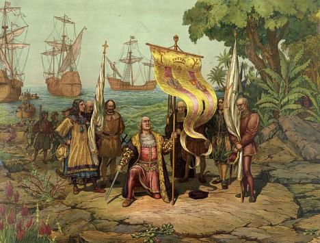Jeden z nejdůležitějších milníků v dějinách lidstva - janovský kapitán Kryštof Kolumbus přistává na americké pevnině.