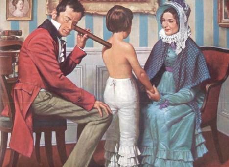 Když lékař při přijetí zjistí diagnózu, pošle pacienta na požadované oddělení.