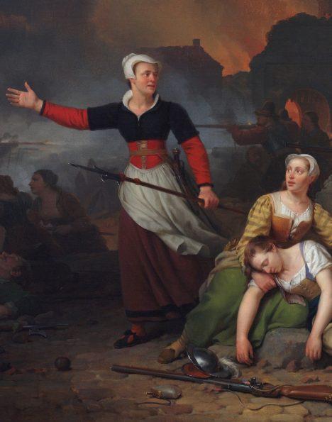 Nizozemské město Haarlem patřilo mezi bohatá centra obchodníků ařemeslníků, v16.století ale isem dolehla tvrdá ruka španělské nadvlády aměsto se vzbouřilo. Právě tady se zrodila legenda Kenau. Obchodnice se dřevem, která se proměnila vkapitánku oddílu dobrovolnic tak houževnatých aodvážných, že zakolísala išpanělská přesila obléhající město vroce1572.