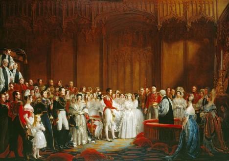 Královnin nastávající - princ Albert je současně jejím bratrancem