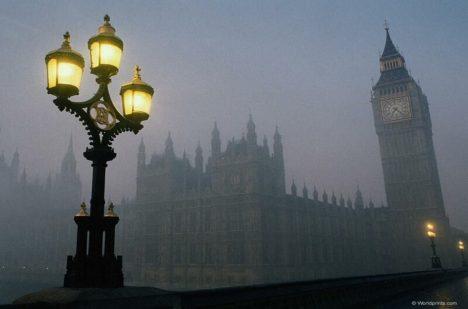 I v Londýně tento fenomén znají, jde jen o mlhu?