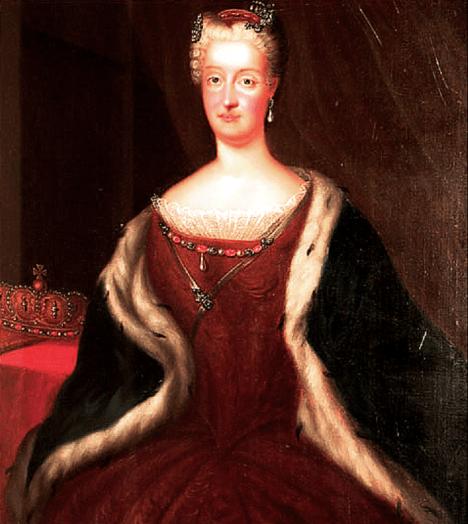 Manželství s Kristýnou Hohenzollernovou je bohužel politicky vynucené a nešťastné.