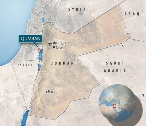 Většina Svitků byla nalezena v okolí Kumránu.