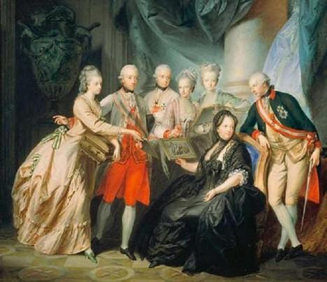 František Štěpán Lotrinský dokáže své zálety před manželkou obratně maskovat.