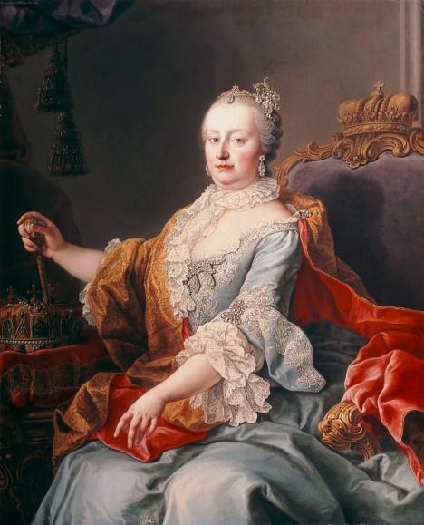 Na počest Marie Terezie se koná průmyslová výstava. Rakouská panovnice na ní sežene dodavatel kvalitního plátna.