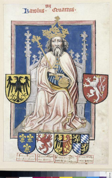 Na svou dobu byl český král a římský císař Karel IV. docela vysoký.