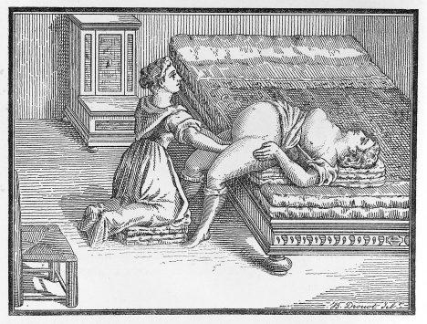 Nové postupy v porodnictví lidé zapomenou a znovu je objevují až v novověku.