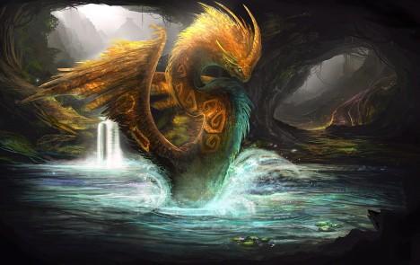 Opeřený had Quetzalcoatl