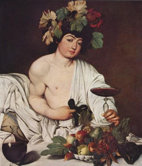 Při řeckých slavnostech vynovaných bohu  Dionysiovi (na obr.) teče víno proudem.